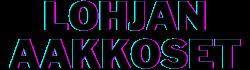 lohjanaakkoset logo